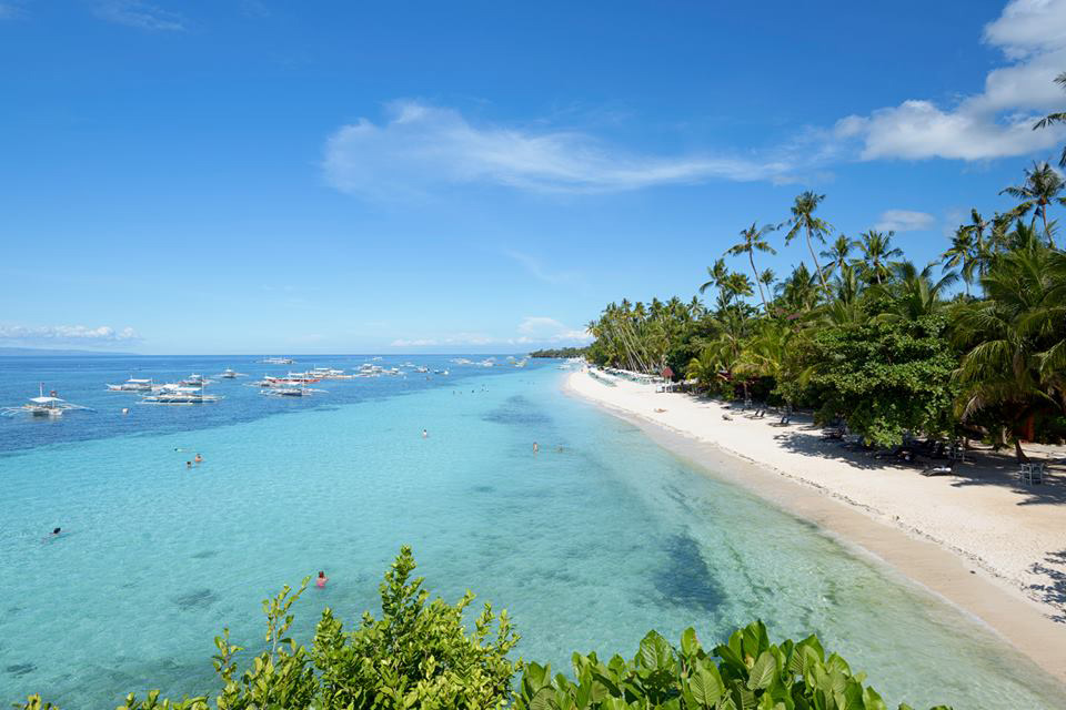 One Of The Most Famous Destination In Island Bohol A Paradise For Everyone It Is Very Its Powdered Sands And Pristine Waters